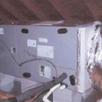Clark Heating & Air Conditioning Waco, Texas - Attic Central Unit
